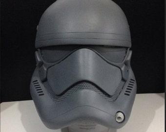 Storm Trooper Helmet -Raw Casting - Star Wars Episode 7
