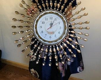 Shiny Rhinestones wall clock