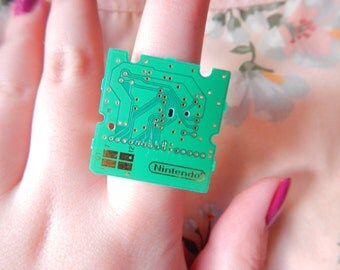 Nintendo DS Game Computer Chip Ring