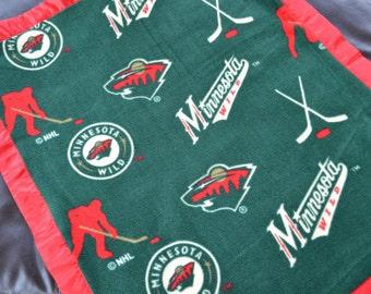 Minnesota Twins Baseball Fleece Blanket With By