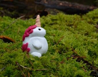 Unicorn Totem Figurine OOAK