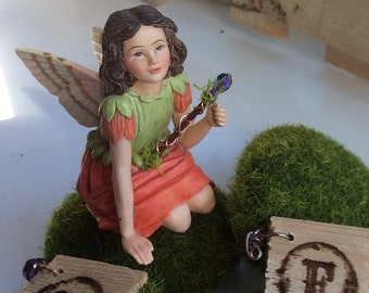 Miniature Fairy Wand and Fairy Flower Press/Journal by Olive*