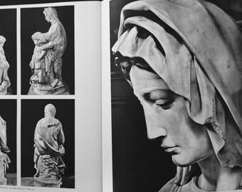 Michelangelo Paintings Sculptures Architecture  Phaedon Vintage Art Book Ludwig Goldsheider Complete Edition 1964 Renaissance