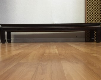 Vintage Chinese Solid Rosewood Low Table/Bench