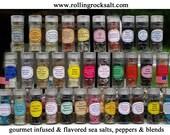 Gourmet Infused Sea Salts  & Blends