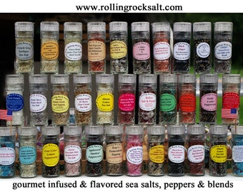 Gourmet Infused Sea Salts  & Blends