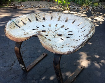 Antique tractor seat outdoor seating industrial reclaim contemporary seating