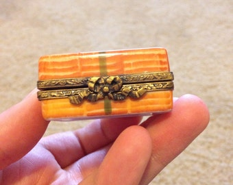 Limoges small chocolate box