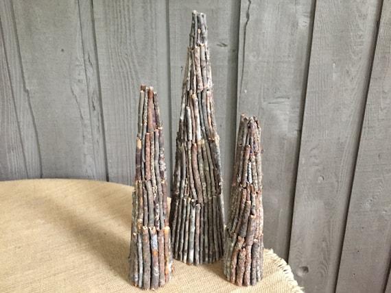 Twig trees rustic twig trees twig cones twig trees rustic