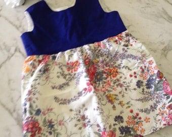 Vintage floral baby dress