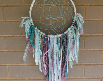 Handmade Dreamcatcher - Lavender, Blue, White - Urban Outfitters, Free People