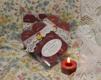 """The """"Cinnamon"""" soy wax candles"""