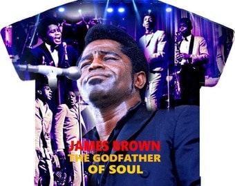James Brown JB1963..All Over Print