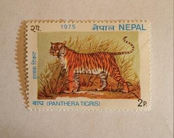 Nepal Tiger Stamp