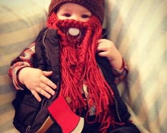 Baby Beard Beanie