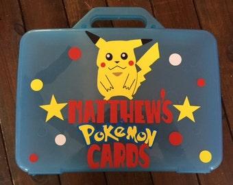 Pokemon storage case