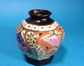 Bergen octagonal vase