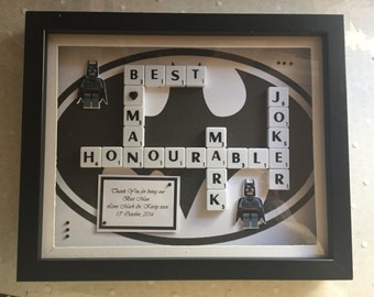 Personalised Best Man & Usher Thank You Gift