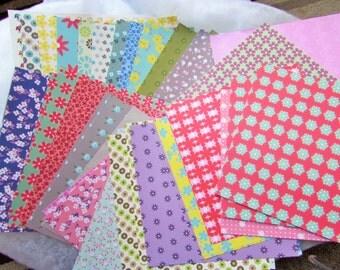 Flower Origami Paper