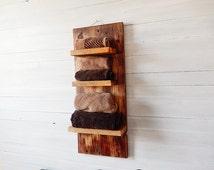 Rustic Storage Shelves- Reclaimed wood shelves- Gifts for Her- Reclaimed Wood Shelves for Wall- Barn Wood shelves