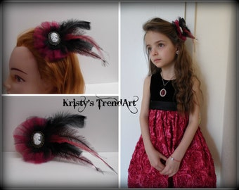 Hair jewelry, hair clip Fascinator