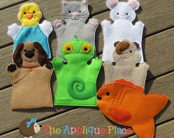 Pet Finger Puppets *Set of 6