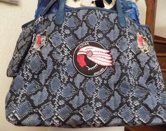 Bag in cotton canvas tote