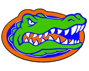 Florida Gators SVG, Logo files by layers - Make Your Own Print Cut Crafts, Shirts, Invitations Cards, Wall Art, Vinyl Decals, ECT