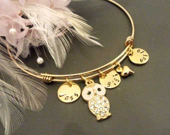 Name jewelry, name bracelet, name, initial, jewellery, mom bracelet, grandma gift, grandma bracelet, Nana bracelet, sister bracelet, sister