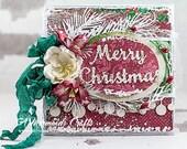 Shabby Chic Merry Christmas Card