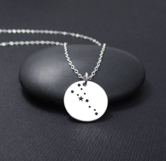 Taurus Necklace Sterling Silver