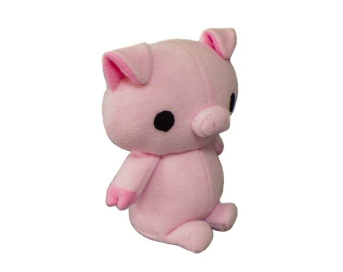 Plush Pig Sewing Pattern