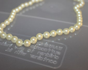Quality Strand of Fresh Water Pearl Necklace, 18 Inches Long, Jewelry, Body Decoration, Beautiful, Accessories, Collectible, Choker Necklace