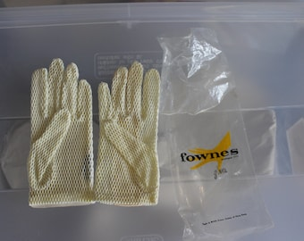 Gloves, Some Leather & Some Breathable Fabric, Made in British Crown Colony of Hong Kong, Made by Fownes Brothers and Company