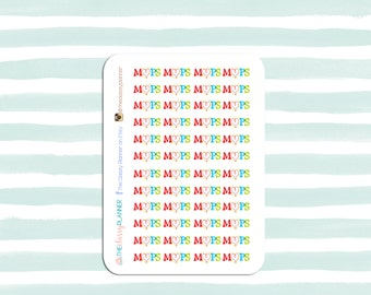 MOPS Stickers for your planner or calendar