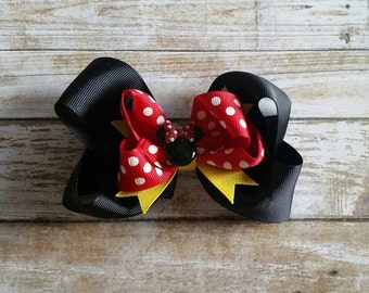 Classic Micky/Minnie Mouse Bow