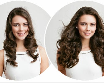 Captivating Hair clip-ins (add some life and length to you hair)