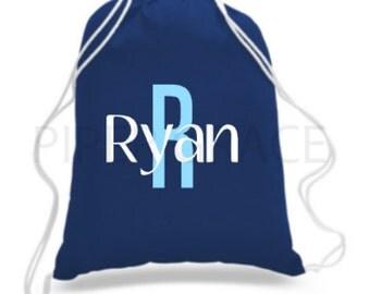 Personalized Drawstring Bag, Drawstring Bag, Children's Backpacks, Drawstring Backpack, Child's Bag, Boy's Toy Bag, Kid's Drawstring Bag
