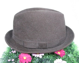 SALE! - Failsworth Trilby - Mens Trilby Hat - Trilby Hat - Vintage Trilby - Trilby - Ladies Trilby - Made In England - Wool Felt Trilby