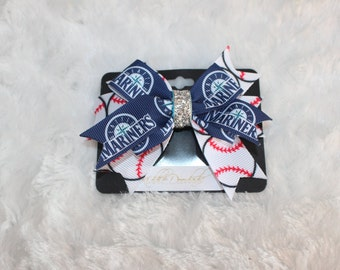 Seattle Mariners Hairbow