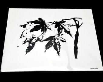8x10 Autumn Leaves Print