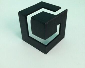 3D Printed GameCube Logo, Made in USA, Retro Gaming, Nintento