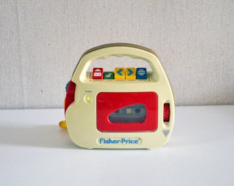 Vintage audio tape player FISHER PRICE 90s