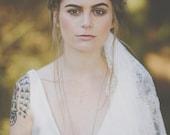 The STELLA Crown - Crystal Raw Quartz Crown Tiara - Magical Ethereal Unique Bridal Headpiece, Hair Accessory