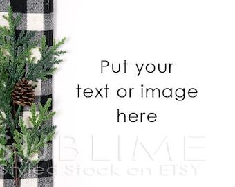 Christmas Styled Stock / Christmas Stock / Christmas Background / Christmas Mock Up / Christmas Desktop / Christmas Photo / StockStyle-603