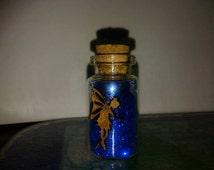 blue fairy dust with fairy guardian