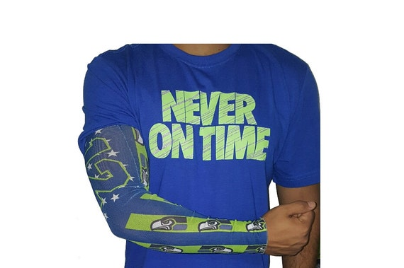seattle seahawks tattoo arm sleeves only here by seahawksfanshop. Black Bedroom Furniture Sets. Home Design Ideas