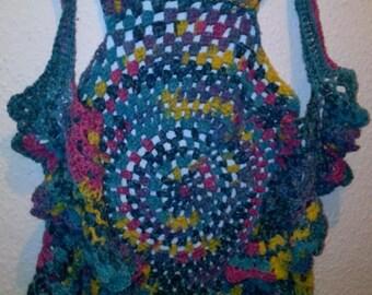 Hippie vest with great Voilant