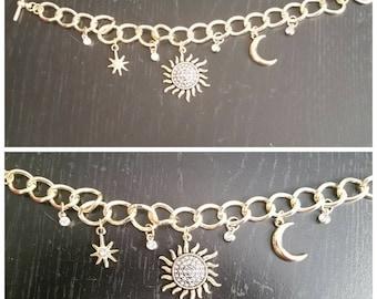 Handmade jewlery-charm bracelet