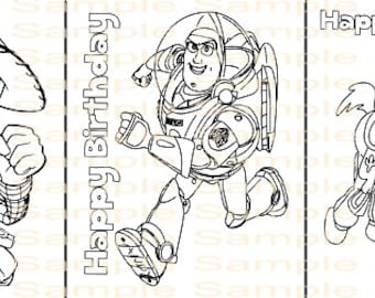 Toy Story Birthday Coloring Page Printable Party Supplies Printables Sheet Jessie Woody
